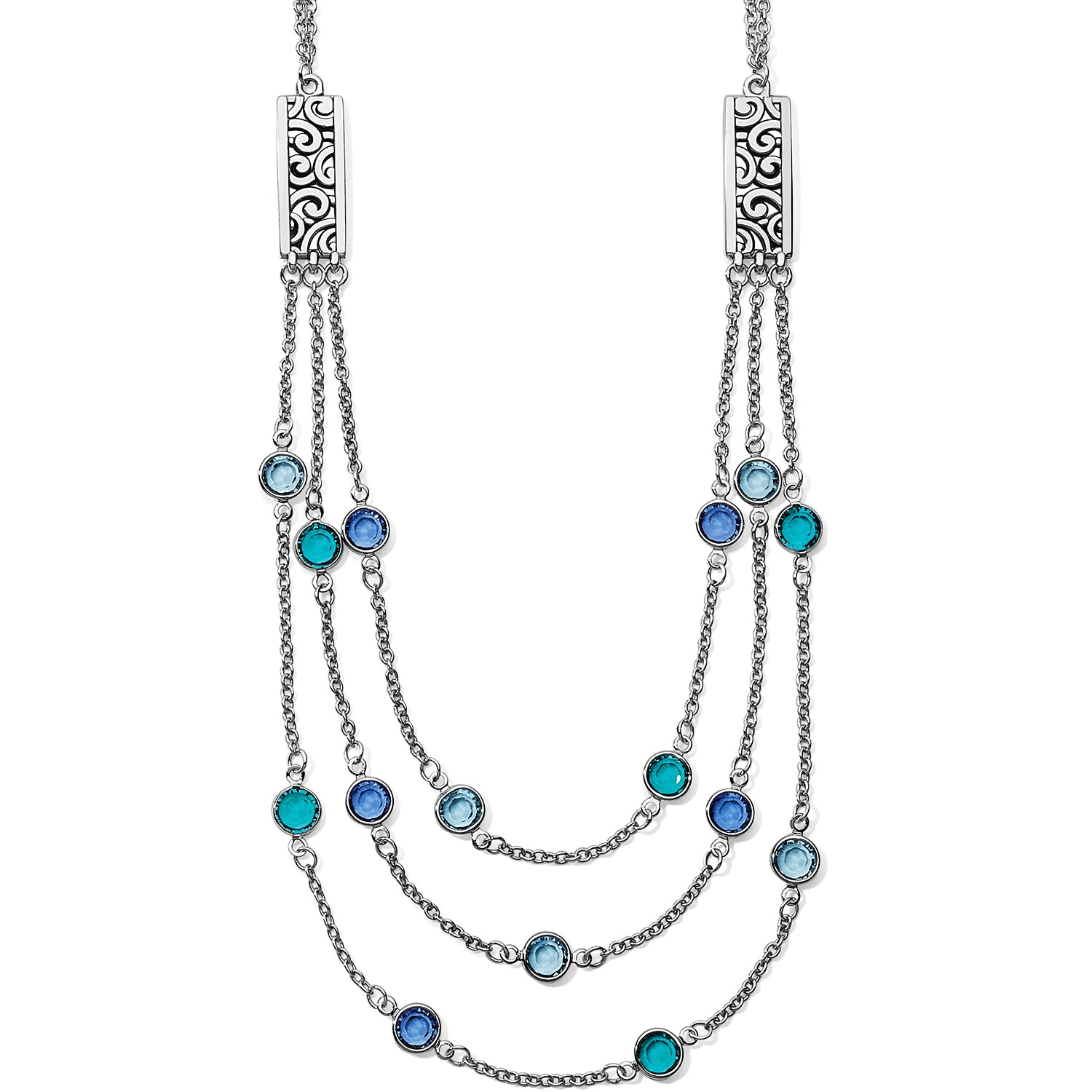 Elora Gems Multi Layer Necklace
