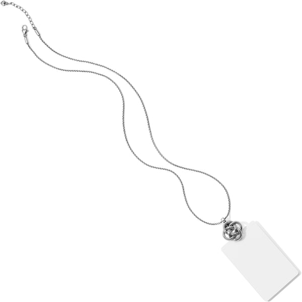 Interlok Badge Clip Necklace