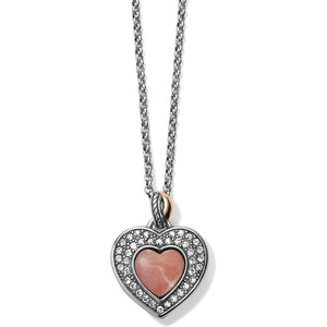 Neptune's Rings Opal Heart Reversible Necklace