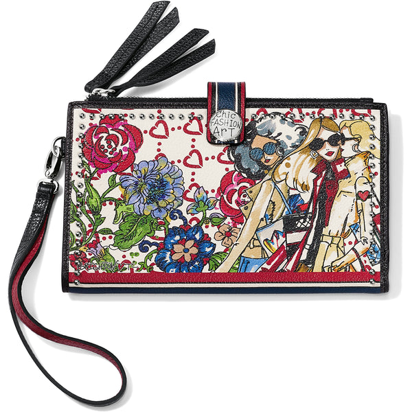 Allure Double Zip Wallet