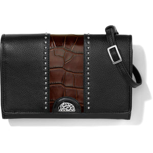 Pretty Tough Small Organizer - Black-Chocolate Croco