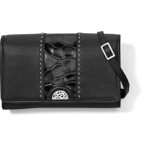 Pretty Tough Small Organizer - Black Croco