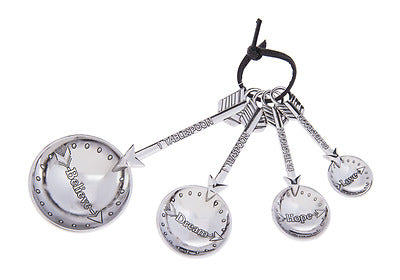 Measuring Spoons Arrows Set-4 Piece