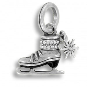 Winter Ice Skate Charm