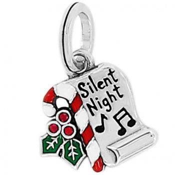 Silent Night Scroll Charm