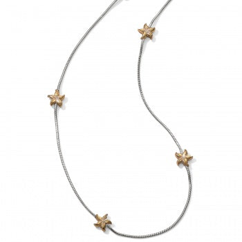 Under The Sea Starfish Long Necklace