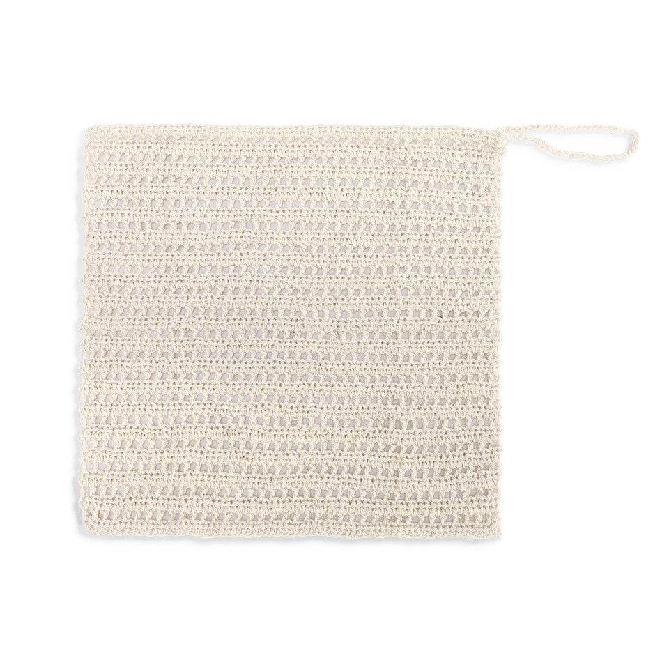 Comfort Handwoven Natural Fiber Exfoliating Washcloth