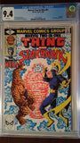 MARVEL TWO-IN-ONE (1974) #61 CGC 9.4