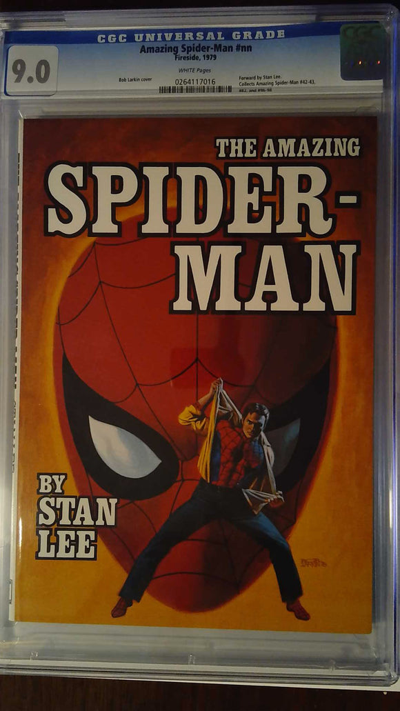 MARVEL FIRESIDE BOOK SERIES AMAZING SPIDER-MAN SC CGC 9.0