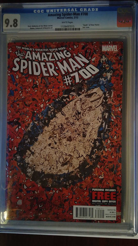 AMAZING SPIDER-MAN #700 CGC 9.8