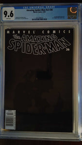 AMAZING SPIDER-MAN VOL 2 #36 CGC 9.6