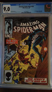 AMAZING SPIDER-MAN #265 CGC 9.0