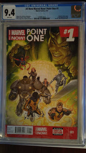 ALL-NEW MARVEL NOW POINT ONE #1 CGC 9.4