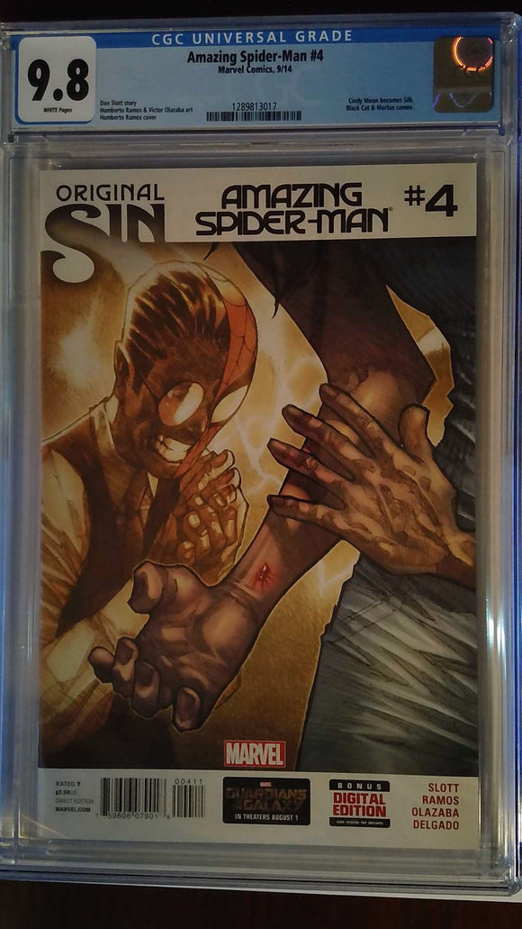 AMAZING SPIDER-MAN (2014) #4 CGC 9.8