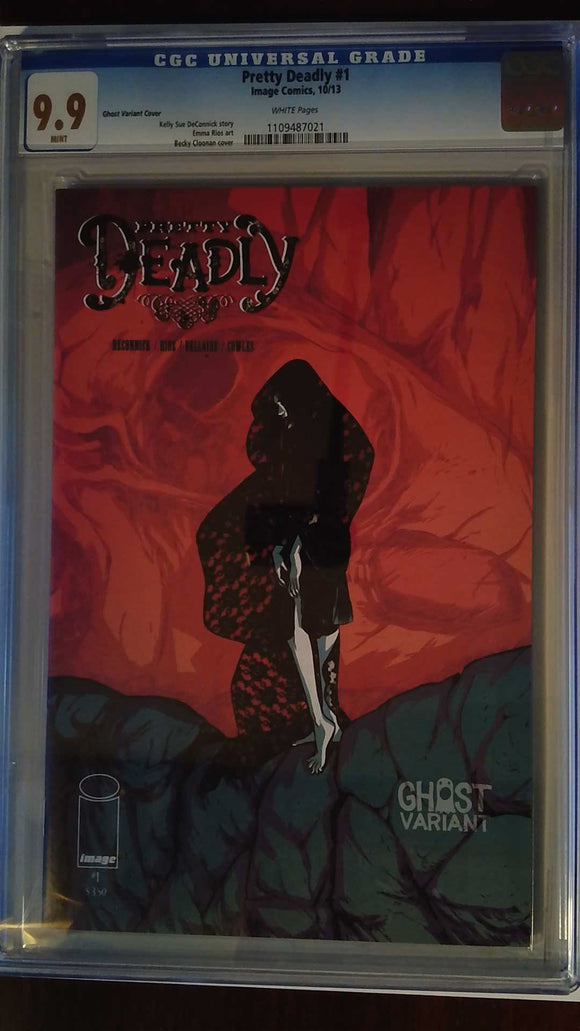 PRETTY DEADLY #1 GHOST VAR (MR) CGC 9.9
