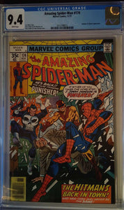 AMAZING SPIDER-MAN #174 CGC 9.4