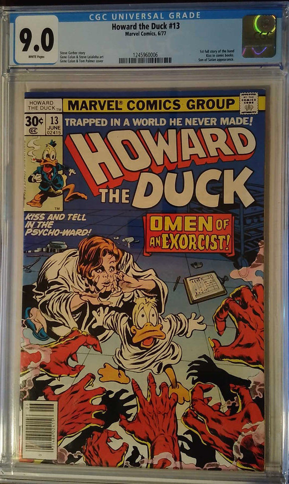 HOWARD THE DUCK (1976) #13 CGC 9.0