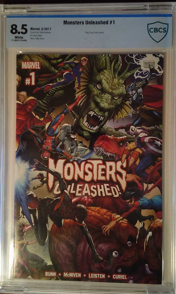 MONSTERS UNLEASHED #1 (OF 5) CBCS 8.5