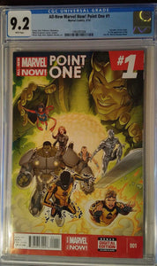 ALL-NEW MARVEL NOW POINT ONE #1 CGC 9.2