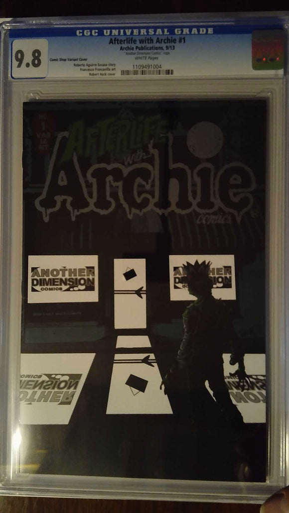 AFTERLIFE WITH ARCHIE #1 ANOTHER DIMENSION EXC CGC 9.8