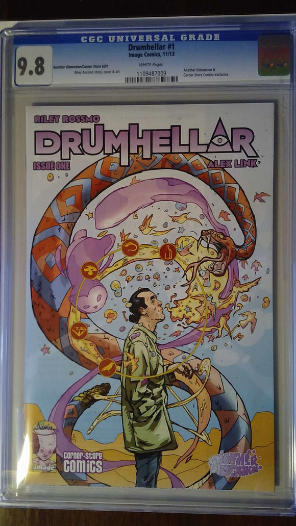 DRUMHELLAR #1 ANOTHER DIMENSION VAR (MR) CGC 9.8
