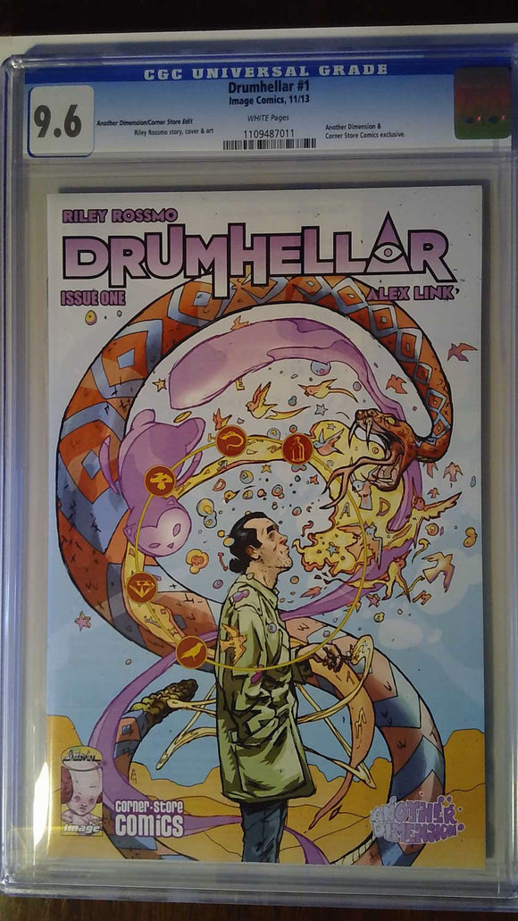 DRUMHELLAR #1 ANOTHER DIMENSION VAR (MR) CGC 9.6