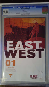 EAST OF WEST #1 GHOST VARIANT CGC 9.8