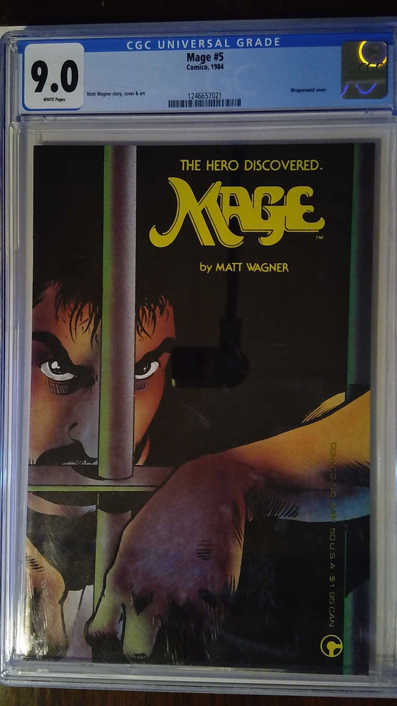 MAGE THE HERO DISCOVERED #5 CGC 9.0