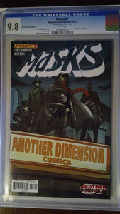 MASKS #1 ANOTHER DIMENSION VARIANT CGC 9.8