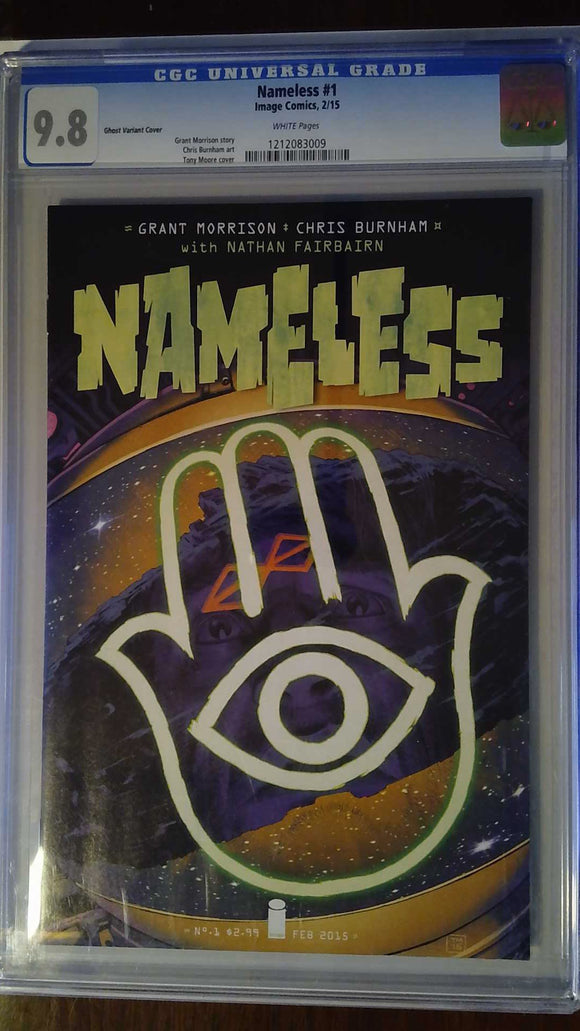 NAMELESS #1 CVR B MOORE GHOST VAR (MR) CGC 9.8