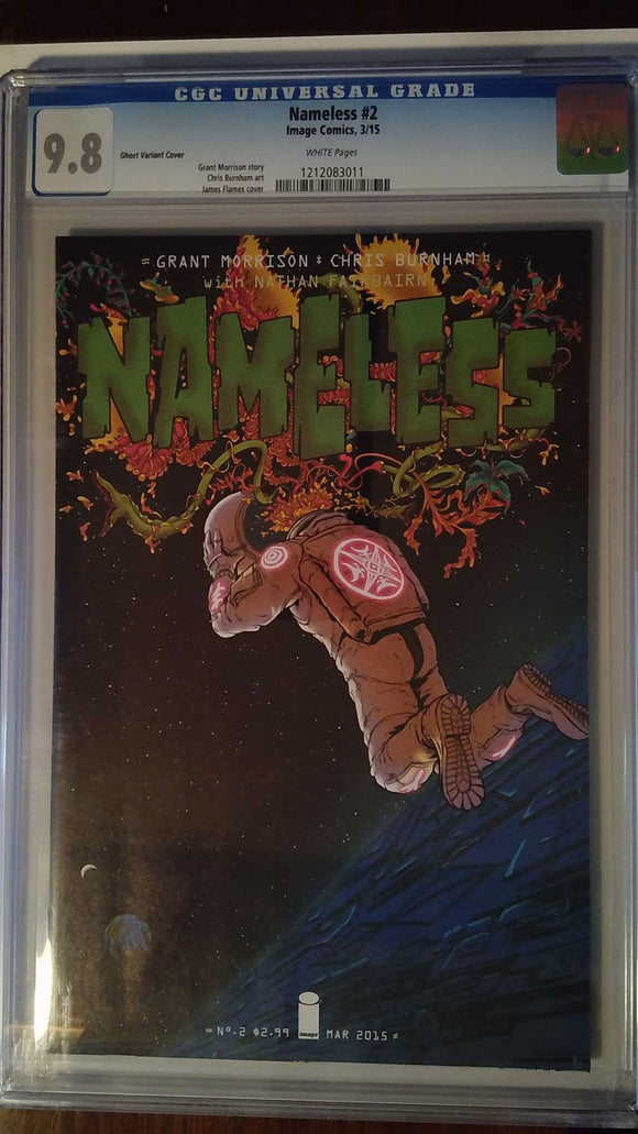 NAMELESS #2 CVR B GHOST VAR (MR) CGC 9.8