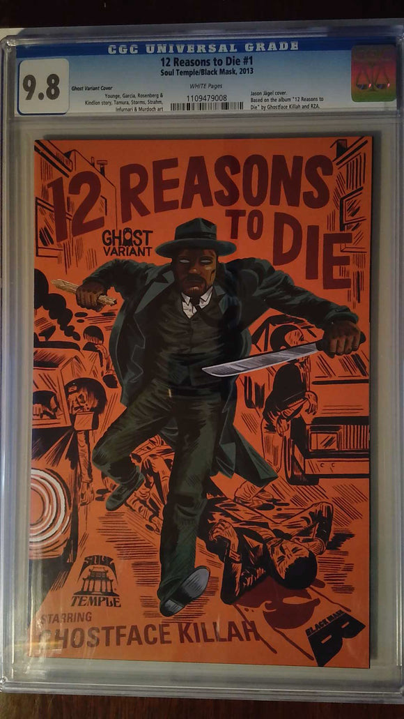 12 REASONS TO DIE #1 GHOST VARIANT CGC 9.8