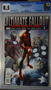 ULTIMATE FALLOUT #4 CGC 8.5