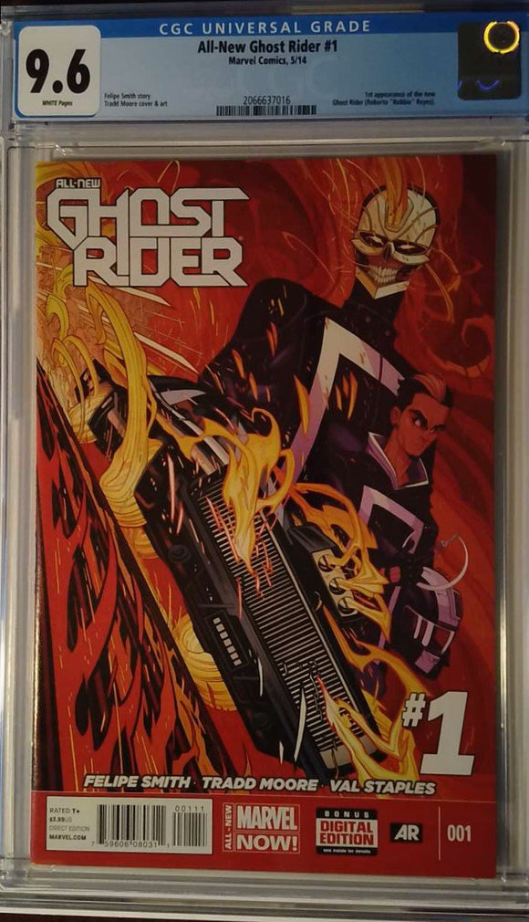 ALL-NEW GHOST RIDER #1 CGC 9.6