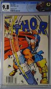 THOR #337 CANADIAN NEWSSTAND ED CGC 9.8