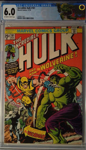 INCREDIBLE HULK #181 CGC 6.0