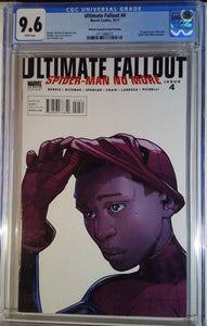 ULTIMATE FALLOUT #4 2ND PTG PICHELLI VAR CGC 9.6