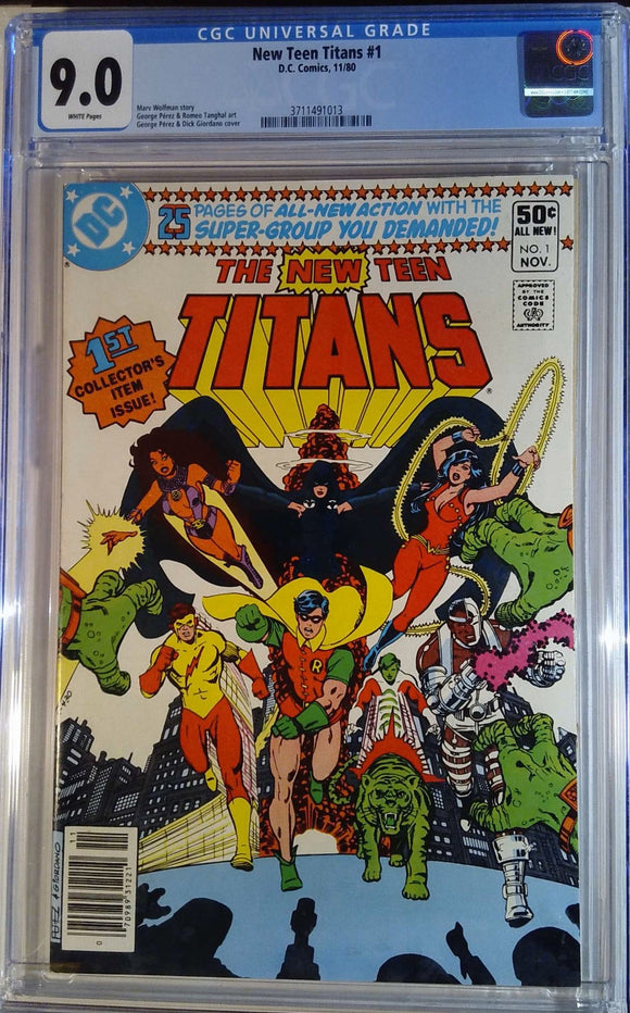 NEW TEEN TITANS (1980) #1 CGC 9.0