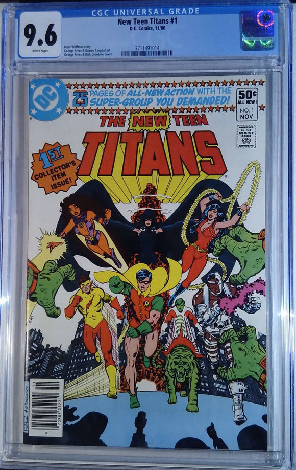 NEW TEEN TITANS (1980) #1 CGC 9.6