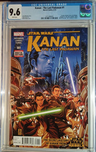 STAR WARS KANAN THE LAST PADAWAN #1 CGC 9.6