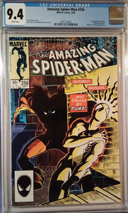 AMAZING SPIDER-MAN #256 CGC 9.4
