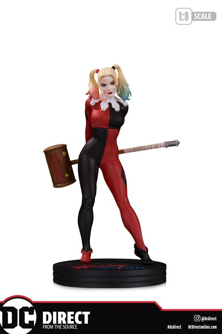 DC COVER GIRLS HARLEY QUINN BY FRANK CHO STATUE