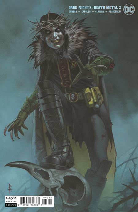 DARK NIGHTS DEATH METAL #3 RICCARDO FEDERICI VAR ED (OF 6)
