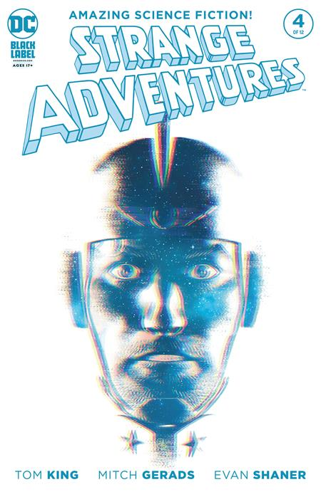 STRANGE ADVENTURES #4 EVAN SHANER VAR ED (OF 12)