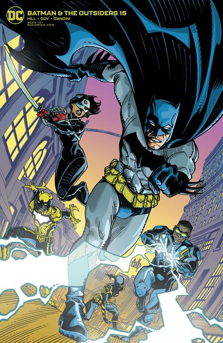 BATMAN AND THE OUTSIDERS #15 CULLY HAMNER VAR ED (2019)