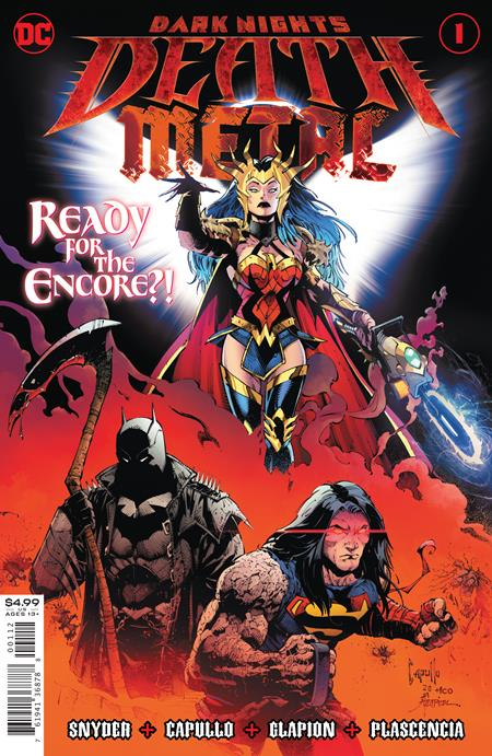 DARK NIGHTS DEATH METAL #1 (OF 6) 2ND PTG