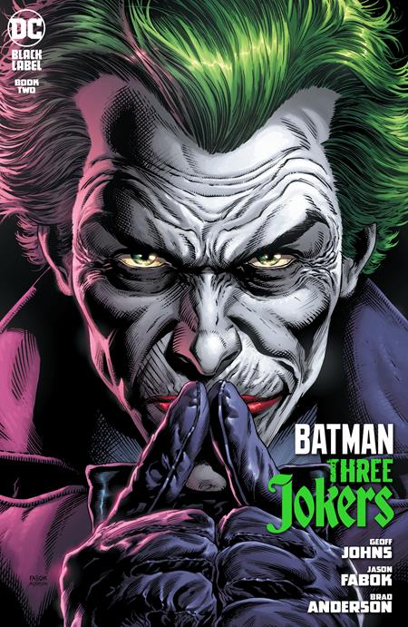 BATMAN THREE JOKERS #2 CVR A JASON FABOK JOKER (OF 3)