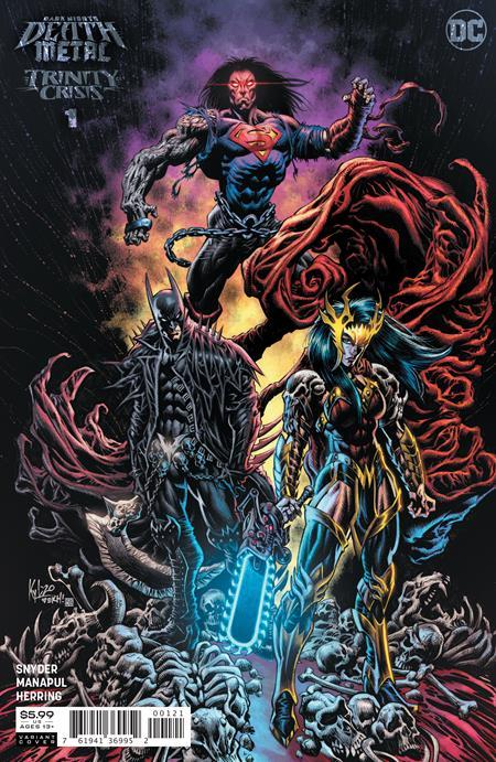 DARK NIGHTS DEATH METAL TRINITY CRISIS #1 ONE SHOT INC