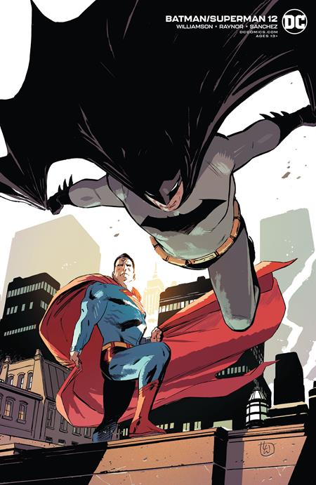 BATMAN SUPERMAN #12 CVR B LEE WEEKS VAR (2019)