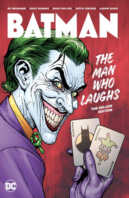BATMAN THE MAN WHO LAUGHS DLX ED HC